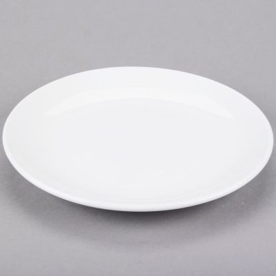 Classic Bright White Dinner Plates