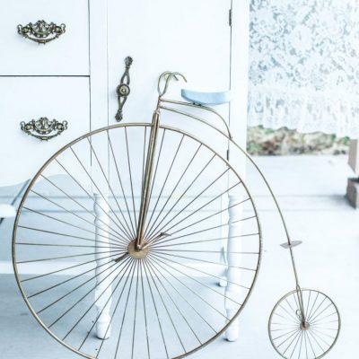 Metal High Wheel Bicycle