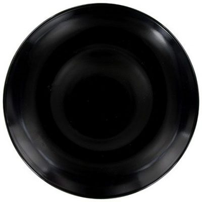 Gloss Black Entree Plates