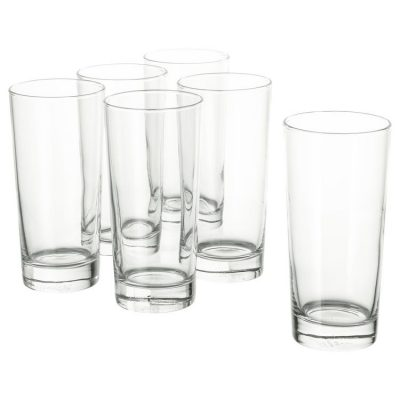 Glass Water Tumbler