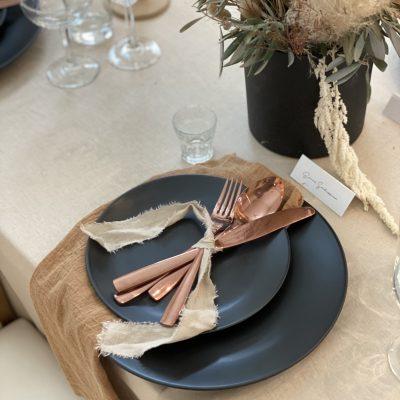 Copper Flatware (4 piece set)